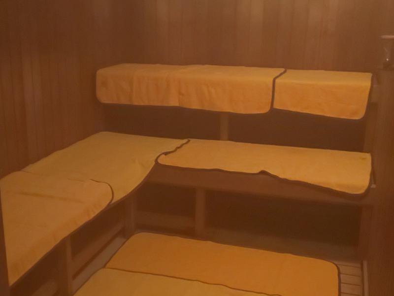 大鰐温泉 不二やホテル サウナ室