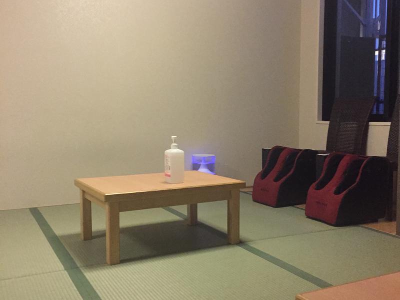 琉球温泉 龍神の湯 休憩室