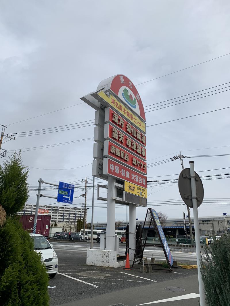 パル姐さんの湯の泉 東名厚木健康センターのサ活写真