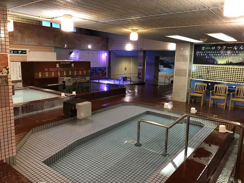 Spa&Hotel JNファミリー 広々大浴場