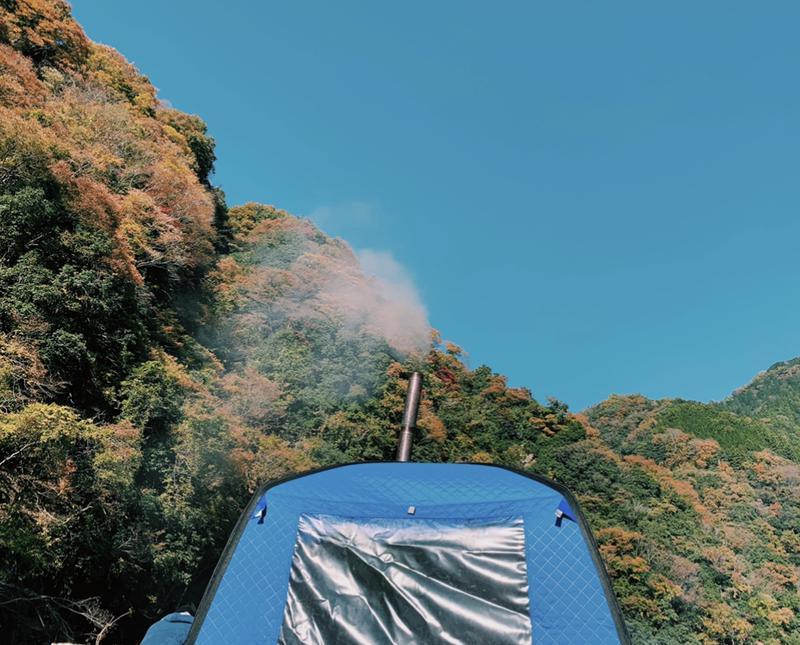 3737さんの青野原野呂ロッジキャンプ場のサ活写真