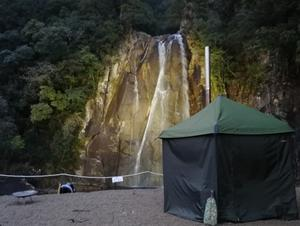 飛雪の滝キャンプ場 写真