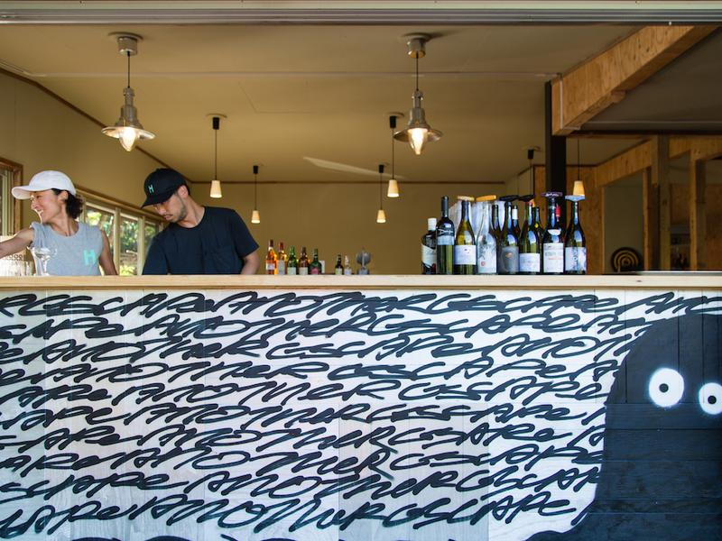HYTTER SAUNA CLUB バーもあって、ビールやコーヒーも