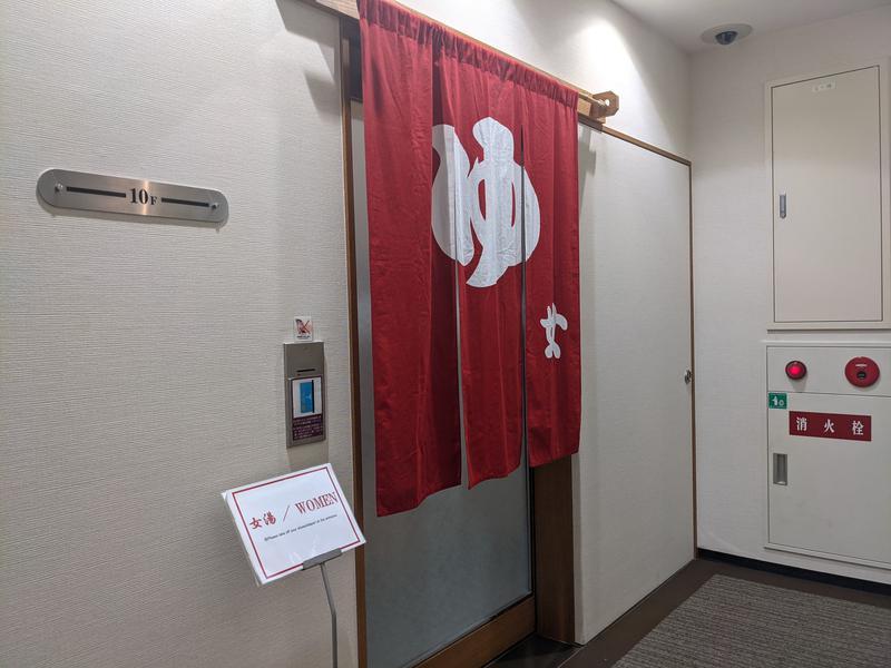 御堂筋ホテル 10階エレベーター前