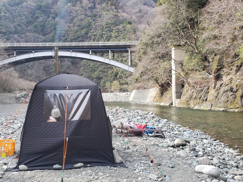 両国橋キャンプ場 (湯川屋) 両国橋