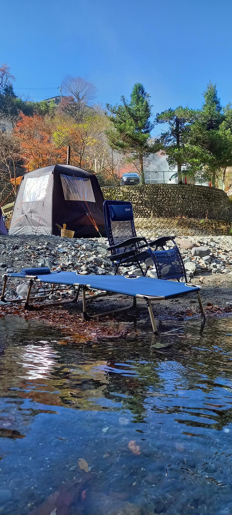 izunaさんの両国橋キャンプ場 (湯川屋)のサ活写真
