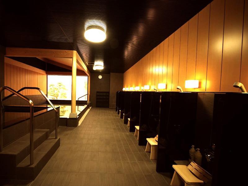 スポーツクラブ ルネサンス 大和24 男性浴室