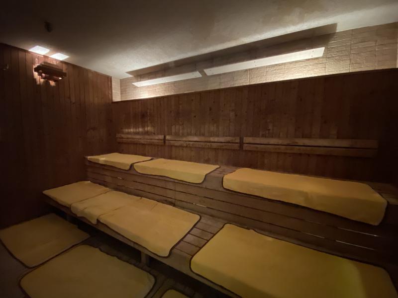 海人の湯 (ロワジールスパタワー那覇) サウナ室