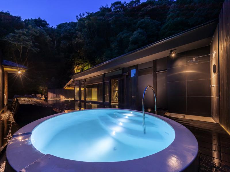 御船山楽園ホテル らかんの湯 男性大浴場 水風呂