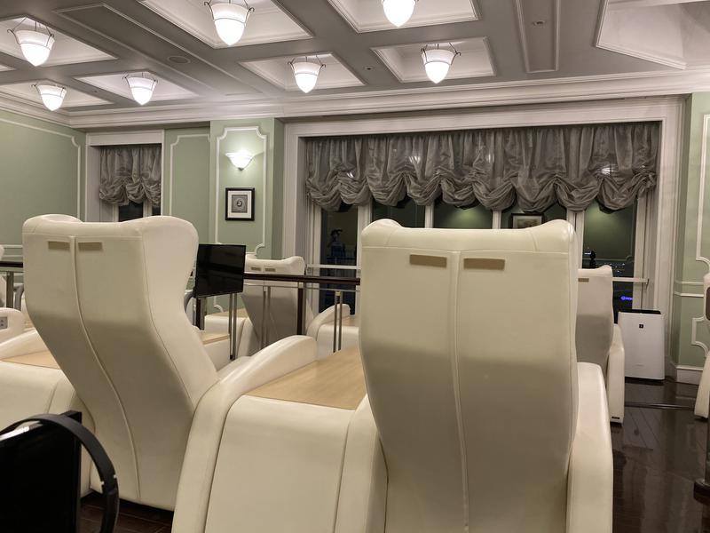 ホテルモントレ仙台 サラ・テレナ 休憩室