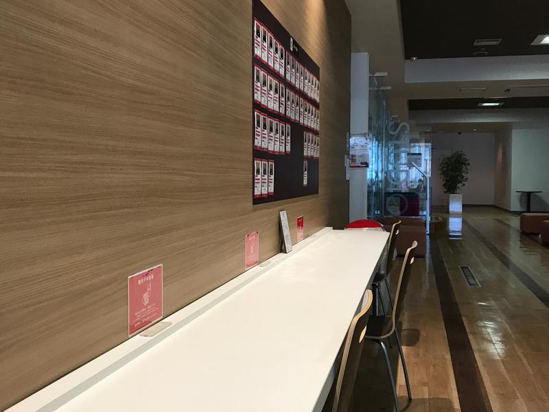 スポーツクラブ ルネサンス 福岡西新24 休憩室