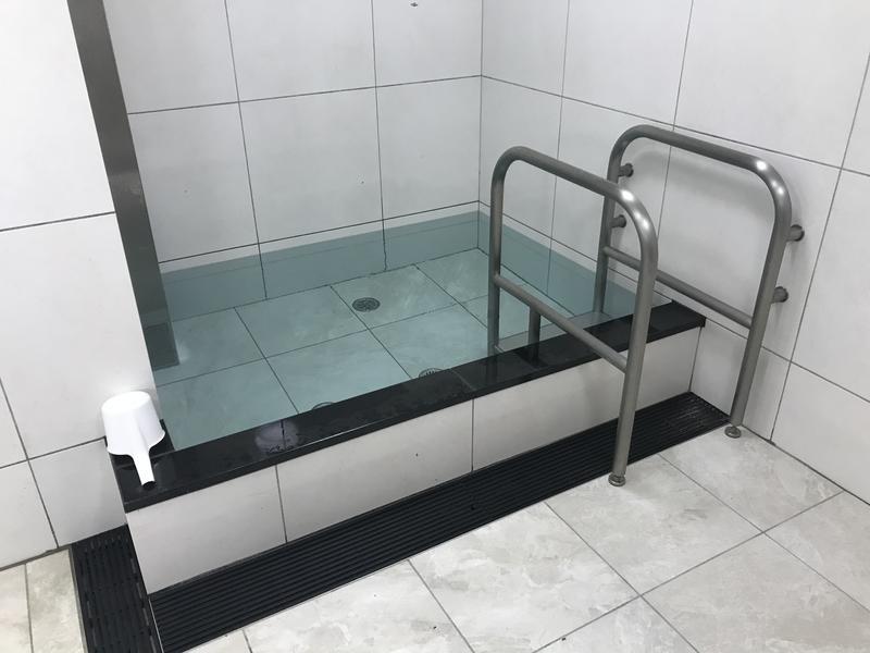 天然温泉 有馬六ツ門の湯(グリーンリッチホテル久留米) 水風呂(男湯)