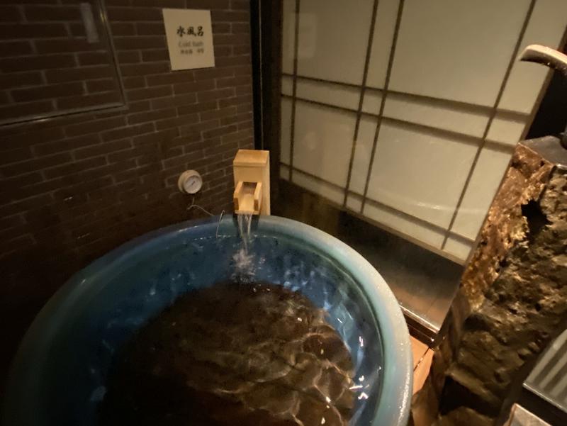 天然温泉 凌雲の湯 御宿 野乃 浅草 水風呂
