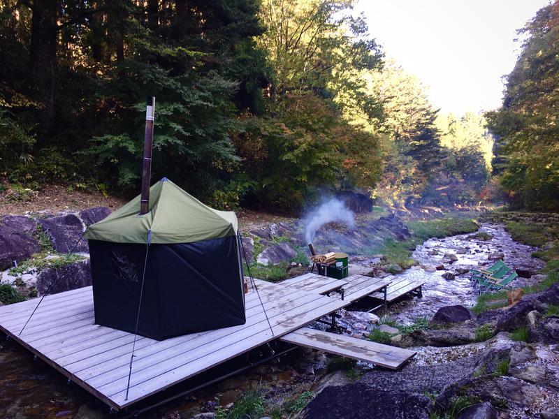 ふるさと村自然園せいなの森キャンプ場 写真