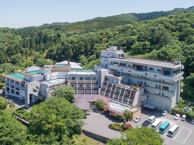 湯田上温泉 ホテル小柳 ホテル小柳全景