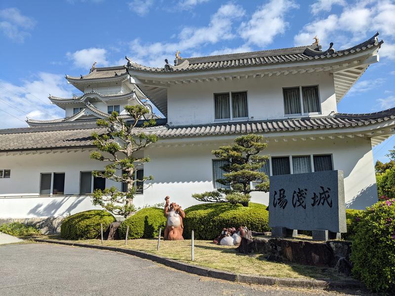 湯浅温泉 湯浅城 写真