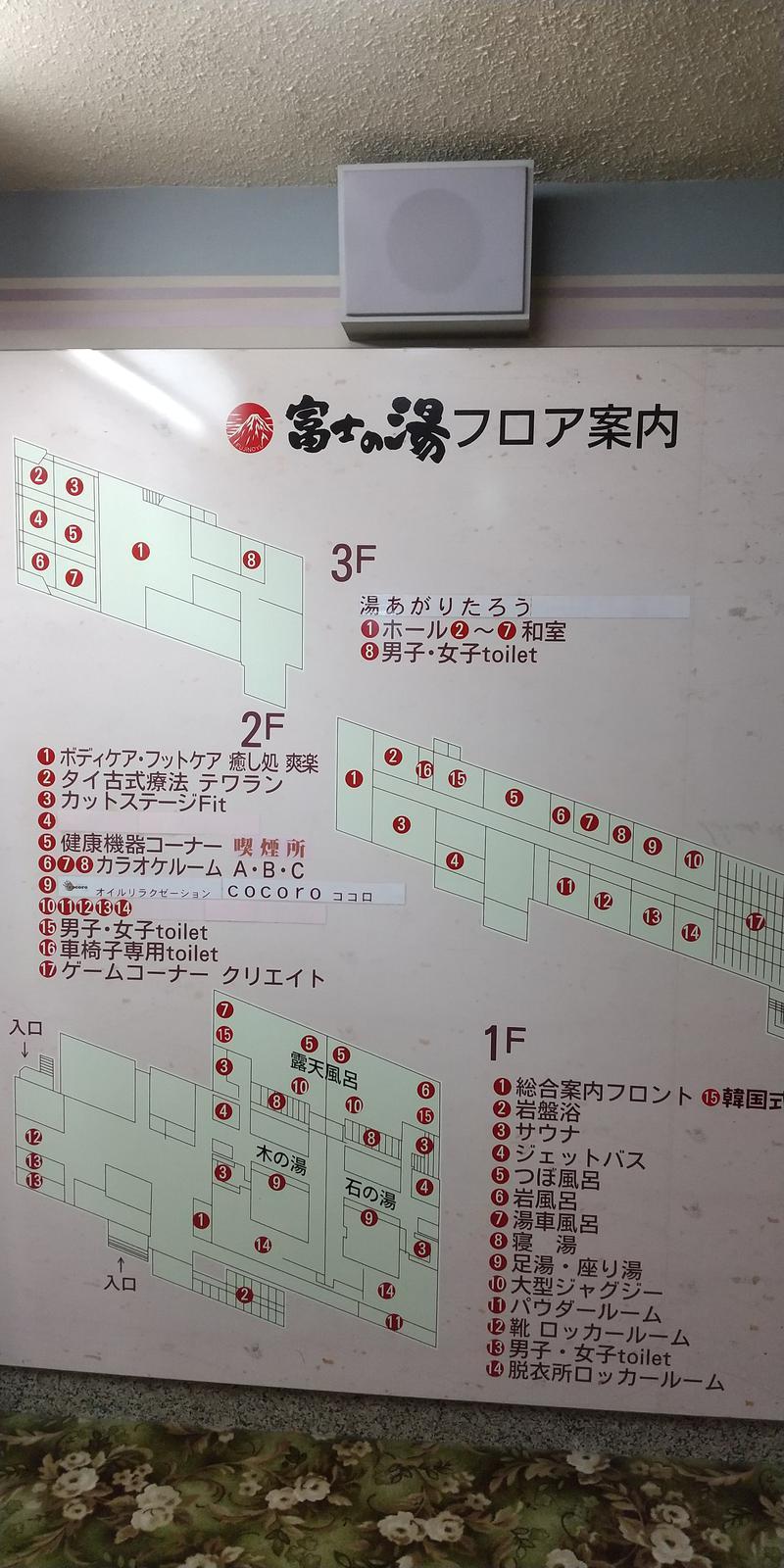 湯らんどさんの富士の湯のサ活写真