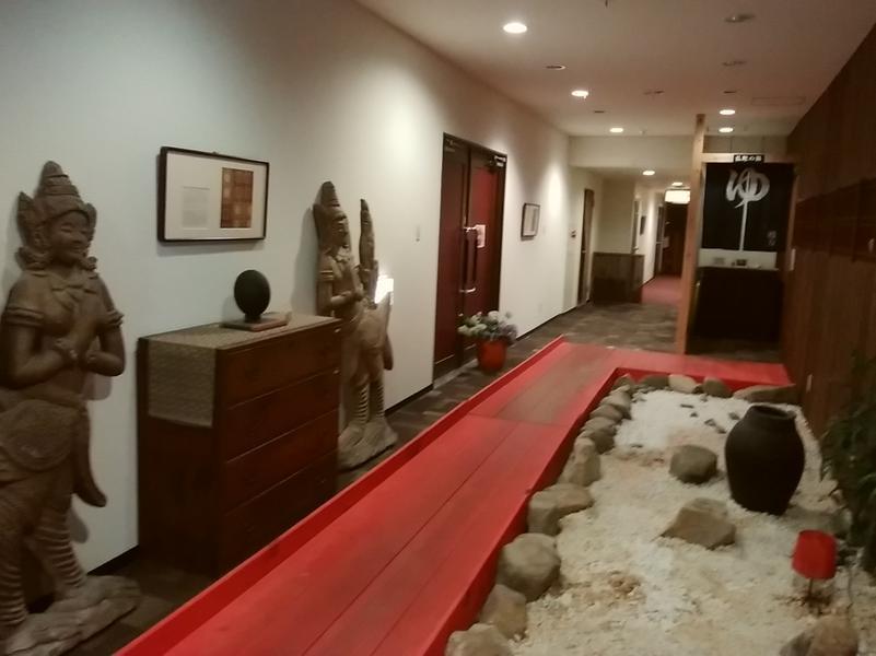 広島北ホテル 館内入口
