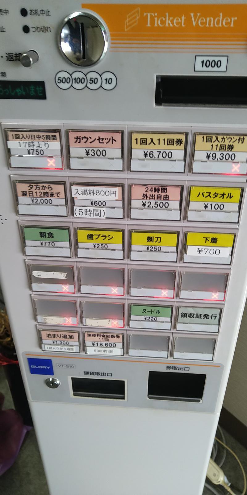 TAKさんのこおりやま駅前サウナ24のサ活写真