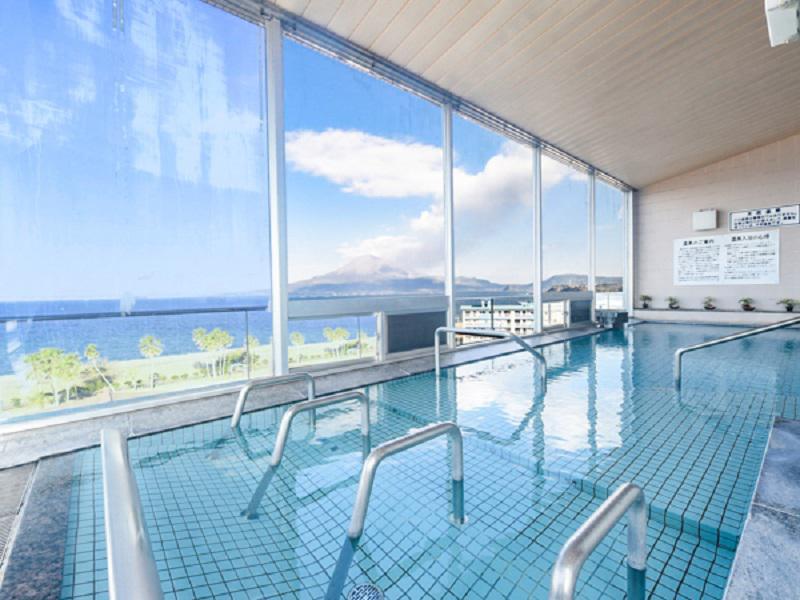 リブマックスリゾート桜島シーフロント 展望風呂