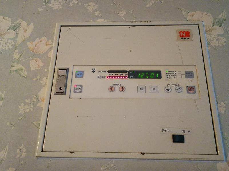 ホテル クローバーリーフ ツカサ(HOTEL Clover Leaf TSUKASA) 505号室サウナ室調整盤