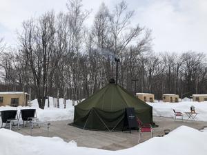 スノーピーク十勝ポロシリキャンプフィールド 写真
