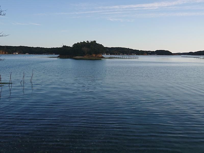 イカダの上のおでん屋台&海上サウナ( 一日一組) 外気浴の風景は穏やかな海とあおさ畑
