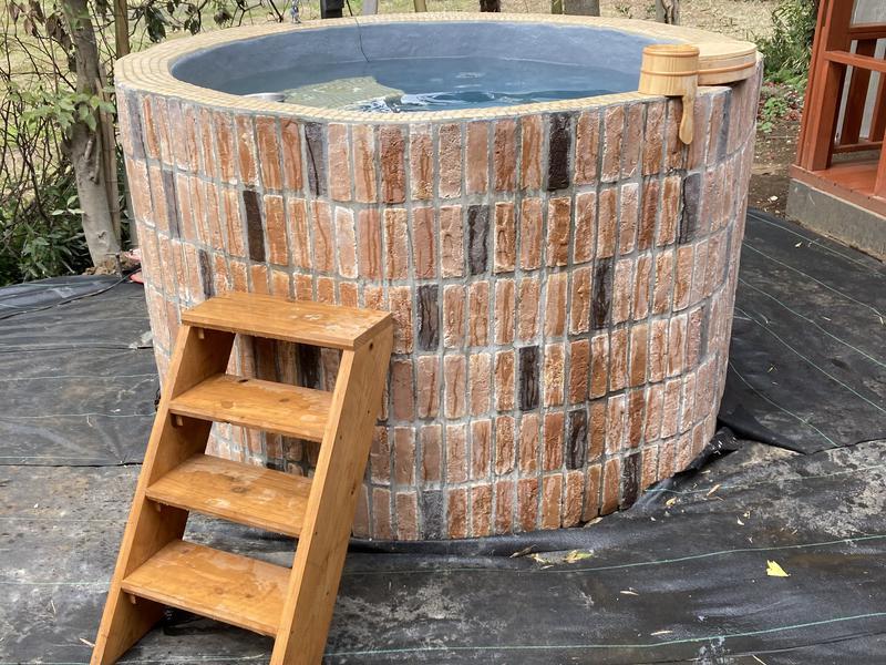 八街ヴィラ 2021年3月完成の水風呂