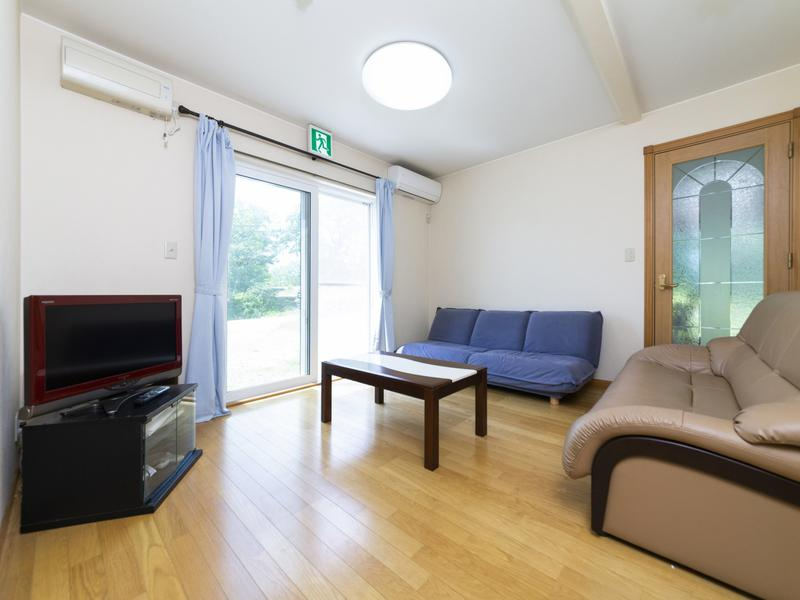 KAIKOMA SAUNA(ペンション駒城) 着替えや休憩、トイレも完備(施設利用プラン)。