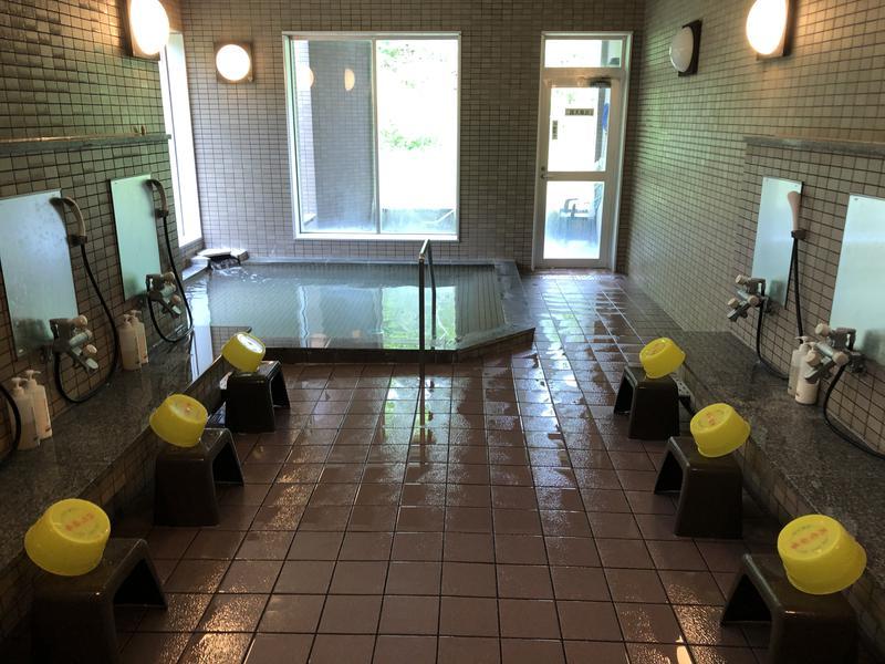 湯の元温泉旅館 浴室内