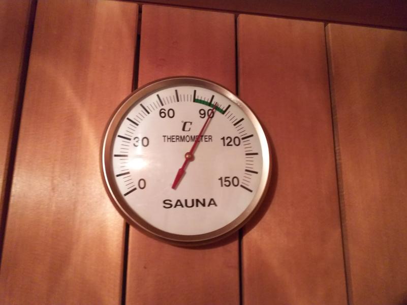 Restaurant HOTEL 銀の塔 95℃~100℃くらいで自動で調整されます