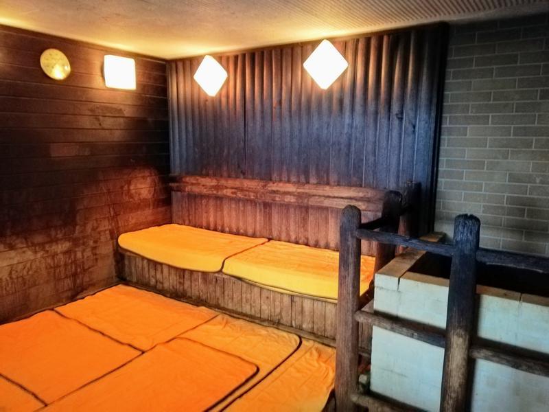 日本の宿 のと楽 ドライサウナ室