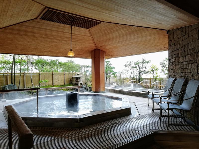 日本の宿 のと楽 海が見える檜風呂