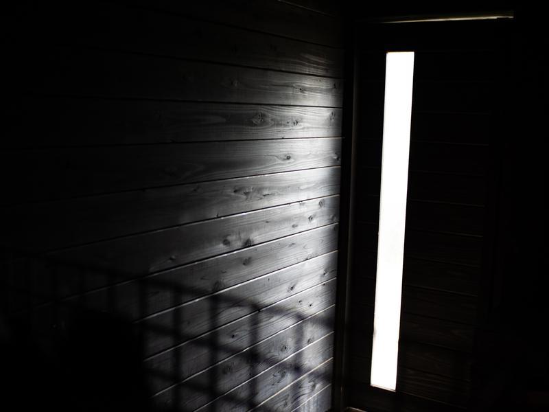 ume, yamazoe サウナ室 景色