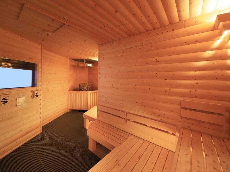 サウナリゾートオリエンタル札幌 (センチュリオンホテル&スパ札幌) メトスikiサウナ ※ホテルの方に許可を頂きました