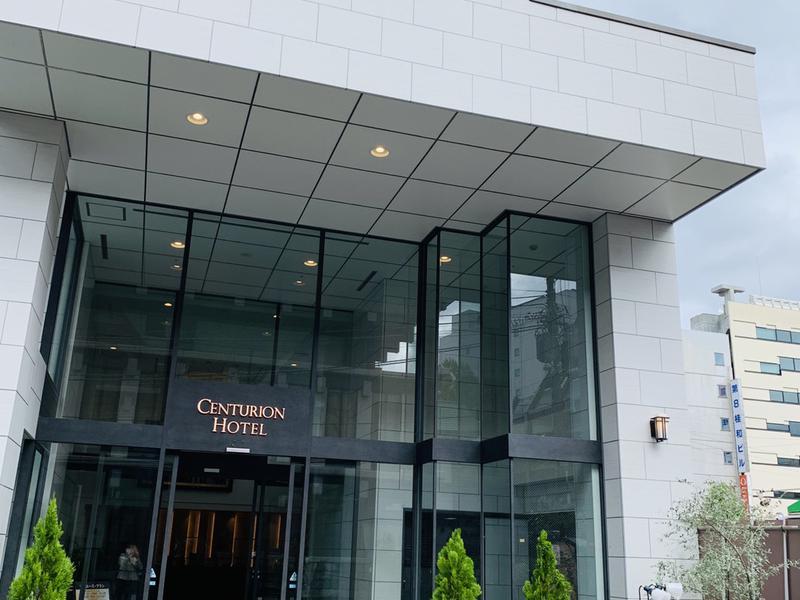サウナリゾートオリエンタル札幌 (センチュリオンホテル&スパ札幌) 入口