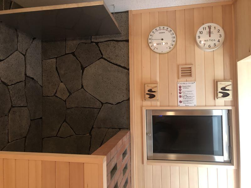 レンブラントスタイル御殿場駒門  富士の心湯 サウナ室
