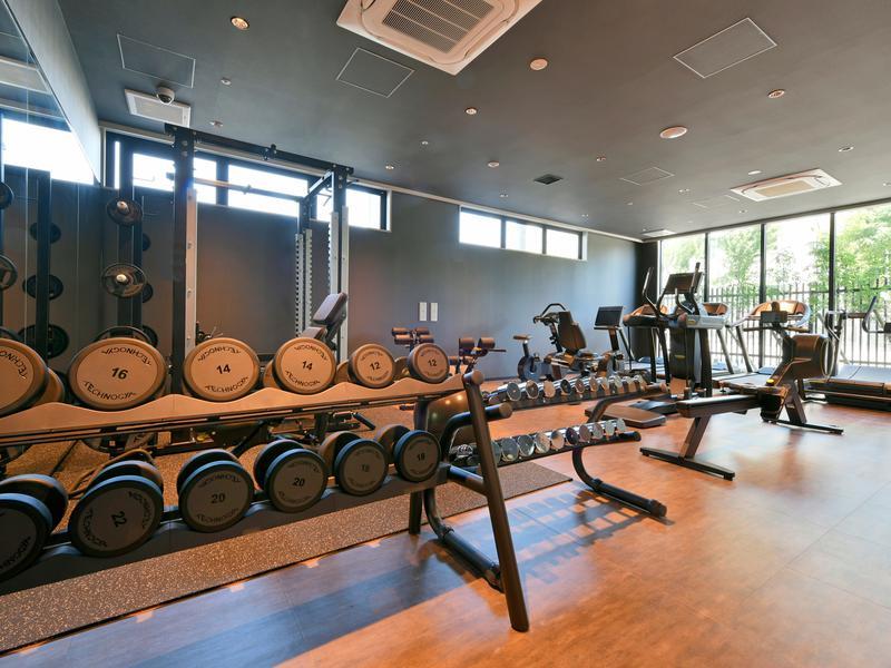 サウナリゾートオリエンタル神戸 (センチュリオンホテル ヴィンテージ神戸) トレーニングジム