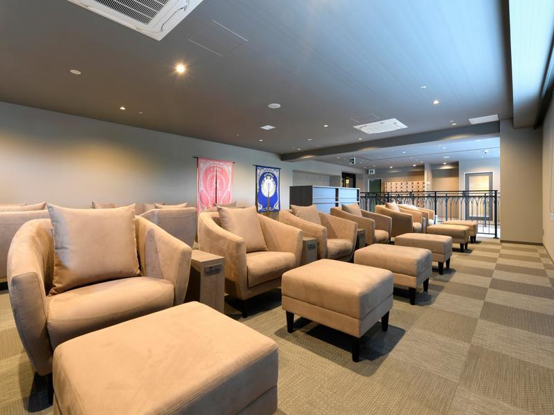 サウナリゾートオリエンタル神戸 (センチュリオンホテル ヴィンテージ神戸) 休憩スペース