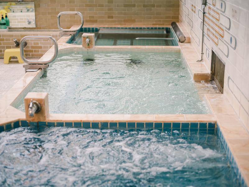 東京浴場 熱湯・ぬる湯