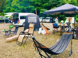 自由キャンプ場 写真