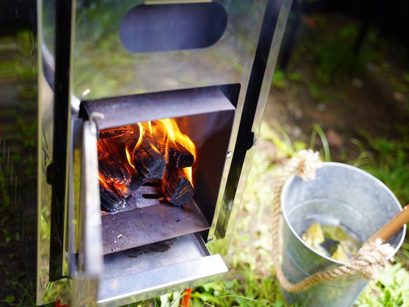 タザワコサウナ MAX120℃まで温度が上がります。