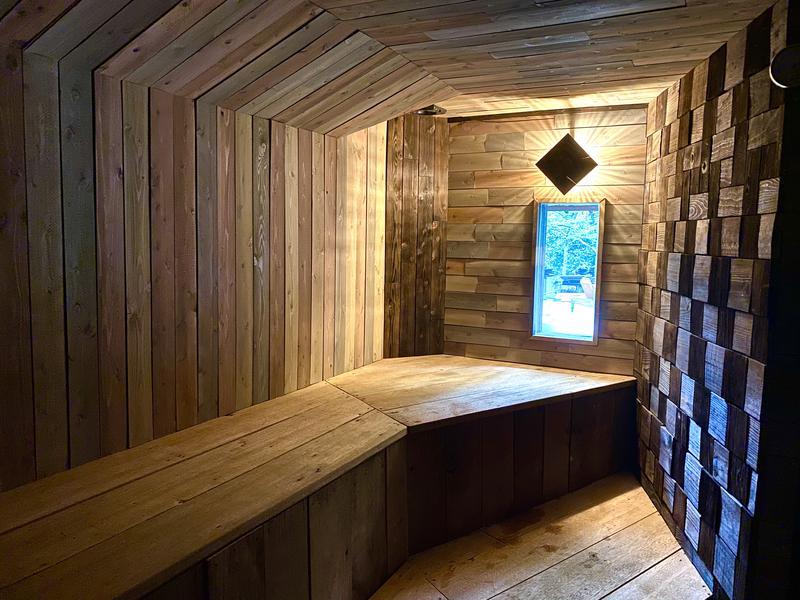 REBUILD SAUNA (ゲストハウスLAMP豊後大野) サウナ室