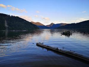 然別湖北岸野営場 写真