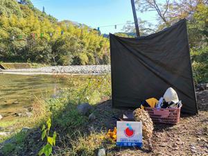 西里キャンプ適地 写真
