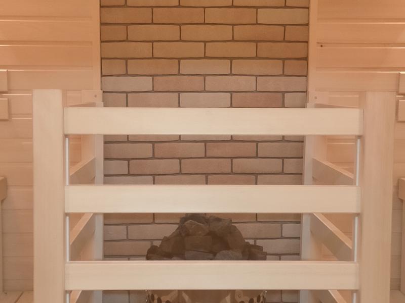 Nature Sauna(大山隠岐国立公園内・一向平キャンプ場) サウナ室