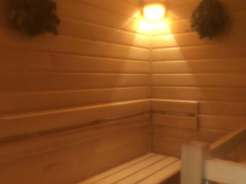Nature Sauna(大山隠岐国立公園内・一向平キャンプ場) サ室内