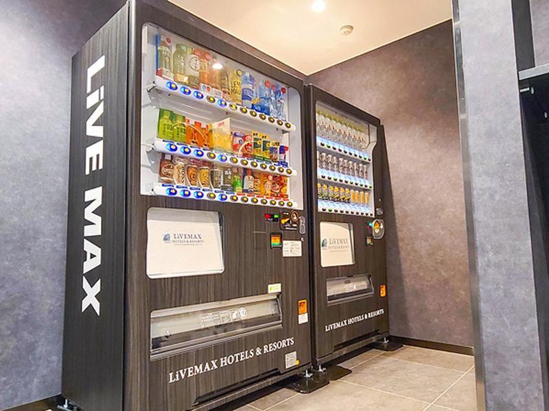ホテルリブマックス赤坂GRANDE 自販機