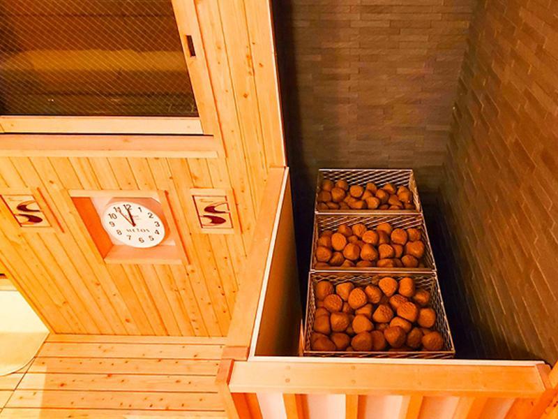 ホテルリブマックス赤坂GRANDE サウナ室