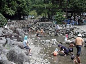 童子沢(わっぱざわ)親水公園 写真